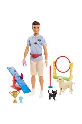 Barbie Ken Ve Meslekleri Oyun Setleri Gjm32-gjm34 0