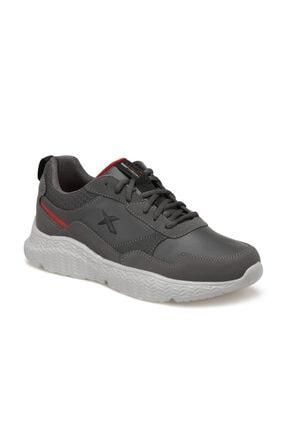 Kinetix DARIAN PU Gri Erkek Comfort Ayakkabı 100535546 0