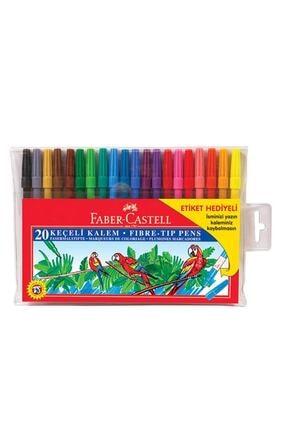 Faber Castell Faber 20 Renk Keçeli Kalem 0