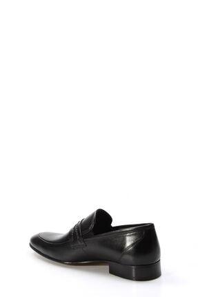 Fast Step Hakiki Deri Siyah Erkek Klasik Ayakkabı 867ma94 2