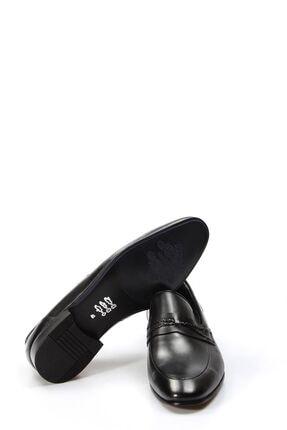 Fast Step Hakiki Deri Siyah Erkek Klasik Ayakkabı 867ma94 4