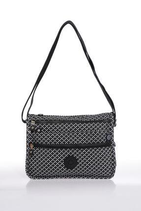 Smart Bags Smb1128-0127 Siyah/beyaz Kadın Çapraz Çanta 0