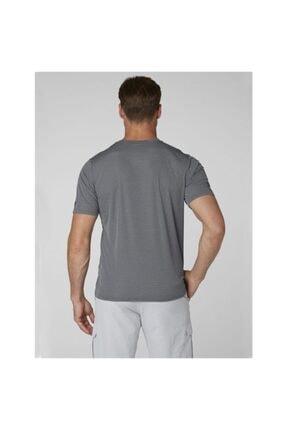 Helly Hansen Hp Circumnavigation Erkek T-shirt Gri 2