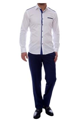 Efor P 888 Slim Fit Parlement Klasik Pantolon 0