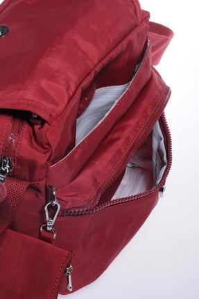 Smart Bags Smb1172-0021 Bordo Kadın Çapraz Çanta 3