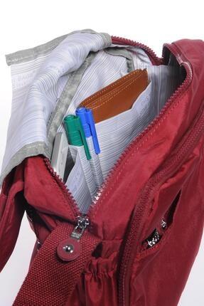 Smart Bags Smb1172-0021 Bordo Kadın Çapraz Çanta 4