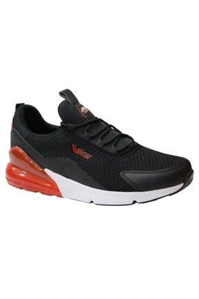 Wickers 2349 Siyah-kırmızı Anatomik (40-44) Erkek Spor Ayakkabı 0
