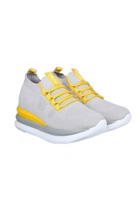 MP Ewoll 1037 Gri Kadın Sneakers 4