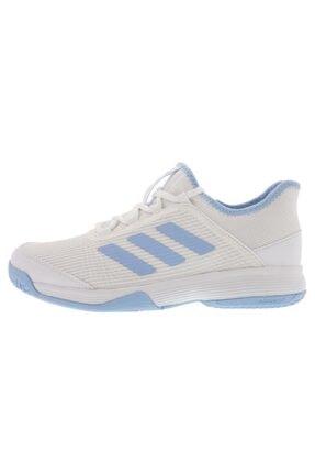 adidas G26837 Adizero Beyaz Çocuk Tenis Ayakkabısı 3