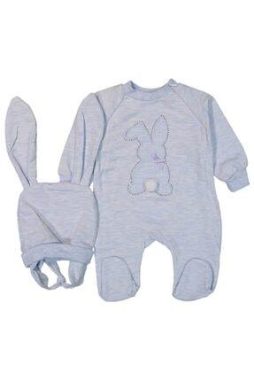 Murat Baby Tavşanlı Erkek Bebek Tulum Takım 0