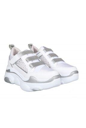 MP Ewoll 1026 Gumus Kadın Sneakers 4