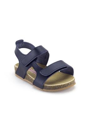 Minipicco Erkek Çocuk Lacivert Deri Ortopedik Sandalet 1