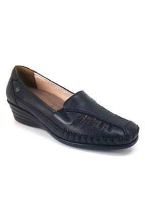 تصویر از 20y 3563 Anatomik Günlük Bayan Ayakkabı-siyah