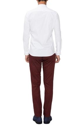 Efor P 1021 Slim Fit Bordo Spor Pantolon 1