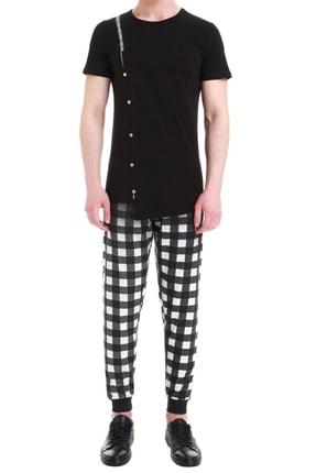 Efor Atp 06 Slim Fit Siyah Spor Pantolon 0