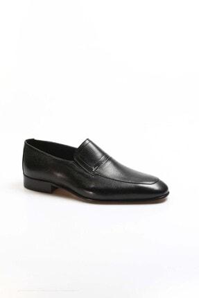 Fast Step Hakiki Deri Siyah Erkek Klasik Ayakkabı 910ma2301 2
