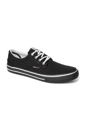Tommy Hilfiger Siyah Erkek Em0em00001 990 Tommy Hılfıger Tommy Jeans Textıle Sneaker Black 0