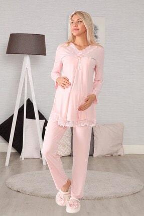 lohusahamile Lohusa Hamile 6032 Pudra Lohusa Pijama Takımı 0