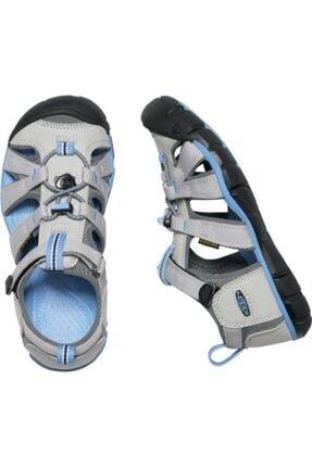 Keen Seacamp Iı Cnx Genç Sandalet Gri/mavi 3