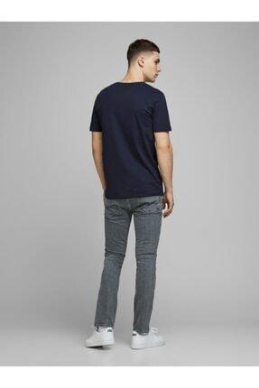 Jack & Jones Jack Jones Erkek Baskılı T Shirt 12172215 1