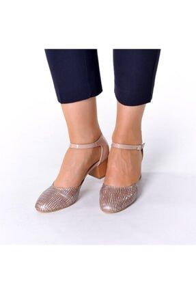 İriadam 9797 Bej Lezar Büyük Numara Bayan Ayakkabıları 1