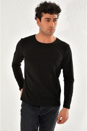 Efor Ts 754 Slim Fit Siyah Spor T-shirt 2