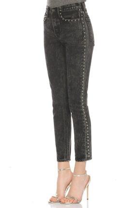 Grlfrnd Siyah Jean Pantolon 2