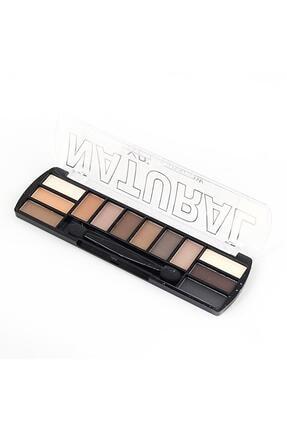 xp 12'li Far Paleti Natural Eyeshadow 0