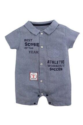 تصویر از Atletic Erkek Bebek Kısa Tulum
