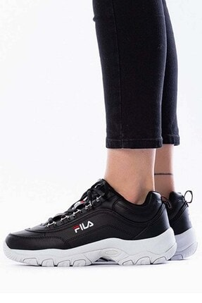 Fila Strada Low Wmn Kadın Günlük Spor Ayakkabı 1010560_25yblack 0