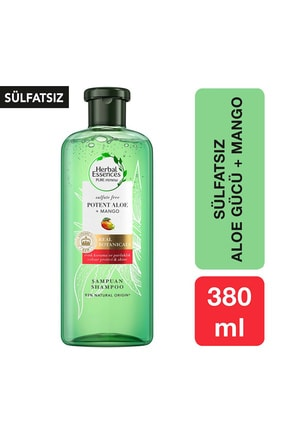 Herbal Essences Sülfatsız Renk Koruma Ve Nem Aloe + Mango Şampuan 380 ml 0