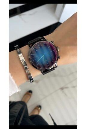 SPEKTRUM BAİTS Bay & Bayan Çelik Renkli Ekran  Model Kol Saati 0