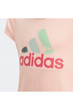 adidas JG BOS GRAPH Pembe Kız Çocuk T-Shirt 101118152 2