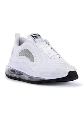 Jump 24660 Beyaz - Siyah Erkek Air Spor Ayakkabı 0