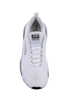 Jump 24660 Beyaz - Siyah Erkek Air Spor Ayakkabı 2