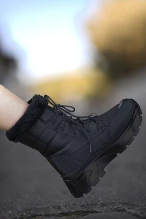 Riccon Siyah Siyah Kadın Kar Botu 00127455 0