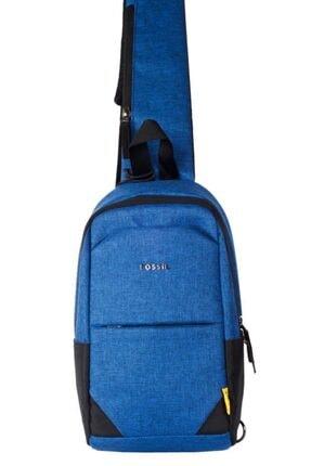تصویر از 7006 Çapraz Göğüs Ve Omuz Çantası Body Bag Mavi