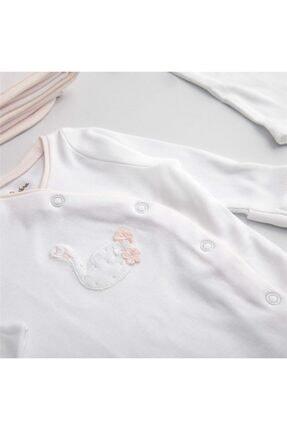 Chakra Swan Yeni Doğan Hastane Çıkışı Beyaz/pembe 4
