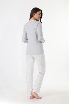 Etoile Ekstra Yumuşak Kumaş Pijama Takımı 98141 3
