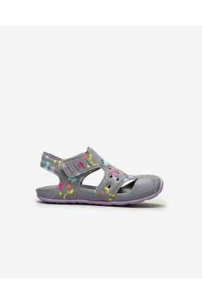 Skechers SIDE WAVE - Küçük Kız Çocuk Gri Sandalet 1
