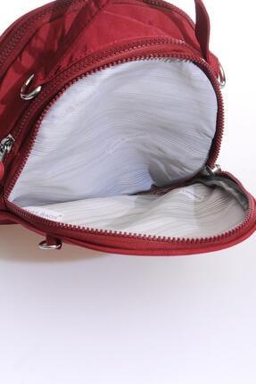 Smart Bags Smb3063-0021 Bordo Kadın Sırt Çantası 3