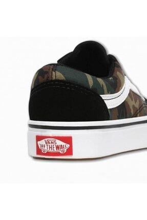 Vans Uy Comfycush Old Skool Woodland Camo Unisex Çocuk Sneaker 2