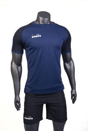 تصویر از تیشرت ورزشی  مردانه سرمه ای