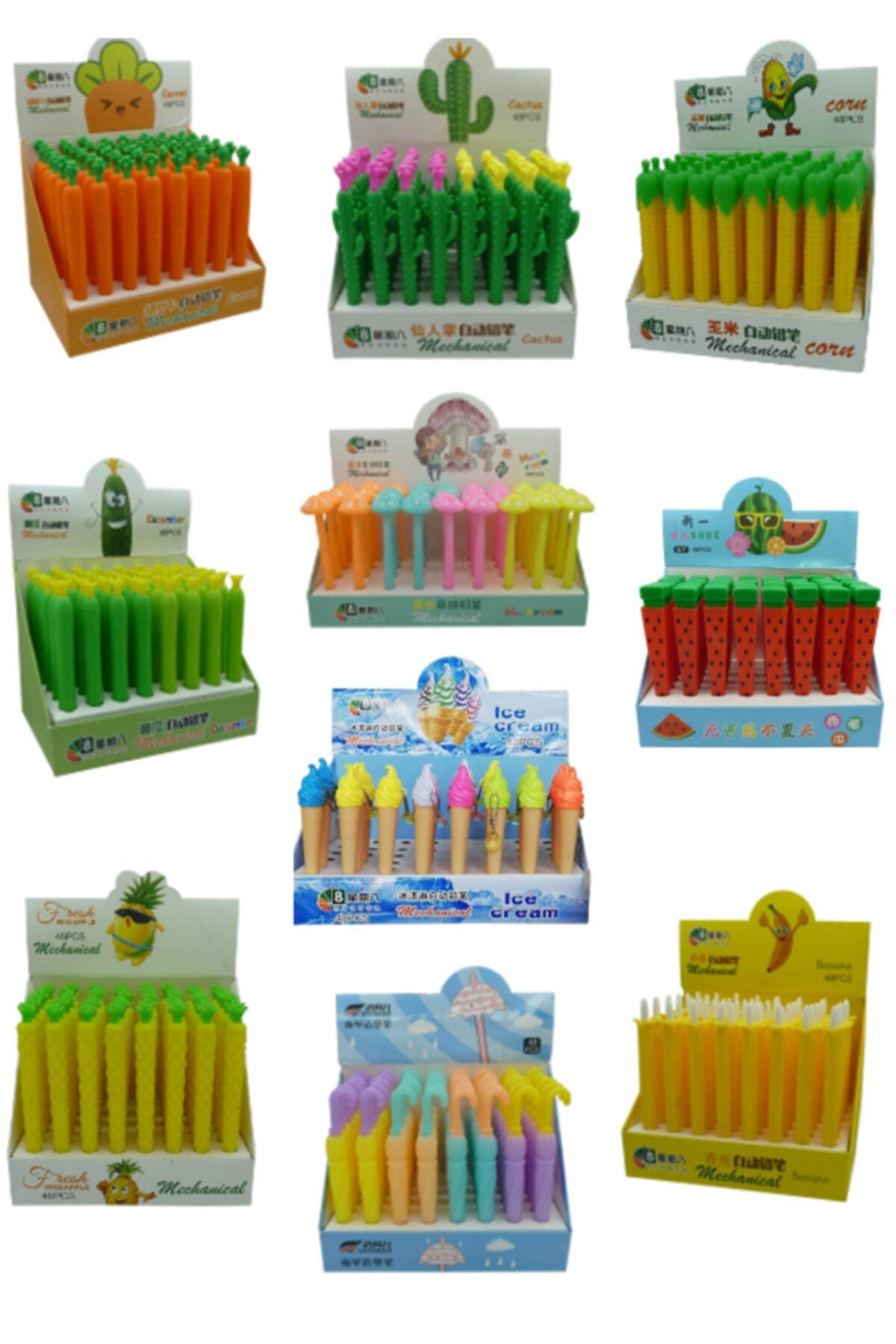 Buperom Eğlenceli Versatil Kalemler 10 Adet Toplam