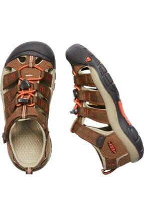 Keen Newport H2 Genç Sandalet Kahverengi/turuncu 3
