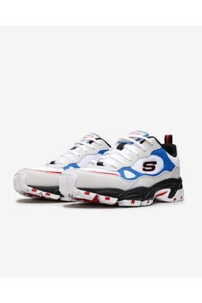 Skechers Stamına-Bluecoast 51706 Wbk Erkek Beyaz Sneakers 2
