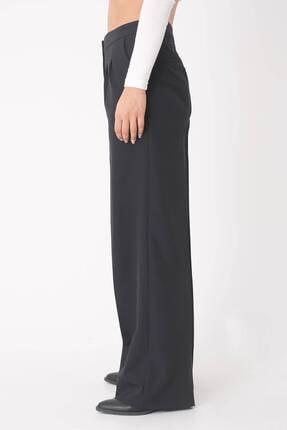 Addax Kadın Siyah Cep Detaylı Bol Pantolon Pn8058 - E8 ADX-0000023058 3