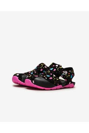 Skechers SIDE WAVE - Büyük Kız Çocuk Siyah Sandalet 2