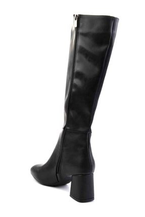 Bambi Siyah Kadın Çizme M0842081509 3