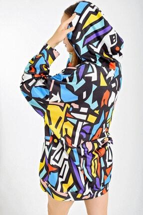 Bigdart 4125 Oversize Sweat Elbise 3